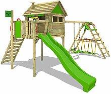 FATMOOSE Spielhaus auf Stelzen FunFactory Fit XXL