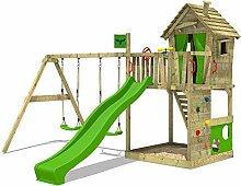 FATMOOSE Spielturm HappyHome Hot XXL Baumhaus