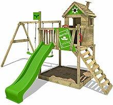 FATMOOSE Spielturm Klettergerüst RockyRanch Roll