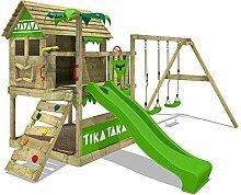 FATMOOSE Spielturm TikaTaka Town XXL -