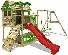 FATMOOSE Spielturm TikaTaka Town XXL Kletterturm