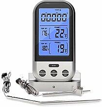 FATOON Fleischthermometer mit großer LCD-Anzeige