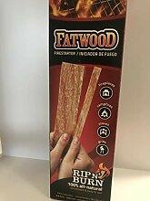 Fatwood Rib'n'Burn Feueranzünder, Holz