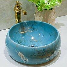Faucet&xiyiji Badezimmer-Waschbecken, Keramik,