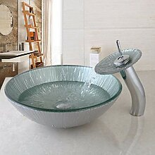 Faucet & xiyiji Waschbecken-Set für Badezimmer,