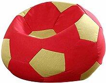 Faule Couch-Sitzsack-Stuhl, Fußball-kreativer