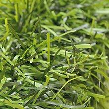 Faura 16504Ende Dekoration Außen Hecke Künstliche Blätter PVC grün