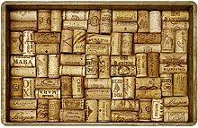 Faux Flooring Kunstleder Bodenbelag Wein Kork