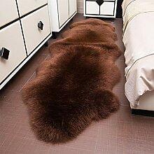 Faux Lammfell Schaffell Teppich Nachahmung