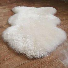 Faux Lammfell Schaffell Teppich Sofa Boden Teppich