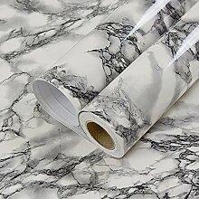 Faux Marmor Kontakt Papier Selbstklebendes Vinyl Folie Abziehen und Aufkleben Granit Regal Schublade Liner Tapete (24von 199,6cm)