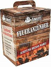 favorit Feueranzünder Feuerkiste 100 Stk