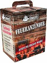 Favorit Feueranzünder (Holzwolle & Wachs), 100