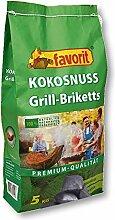Favorit Kokosnuss Grill Briketts Premium Qualität