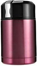 Favson Vakuum-Topf aus Edelstahl, 1000 ml, Ro