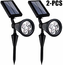 Favson2 Solarstrahler/Landschaftsleuchte, 4 LEDs,