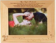 FAYERXL Holz-Bilderrahmen mit Gravur to My