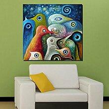 FAYM-Das Wohnzimmer ist modern gemälde, abstrakte