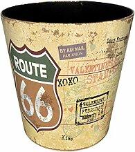 FBBM Papierkörbe, 10L Wasserdicht PU Leder