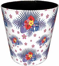 FBBM Papierkorb, 10L Wasserdicht PU Leder
