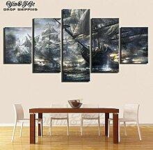 Fbhfbh 3D Leinwand Gemälde, Wohnzimmer Wandbilder