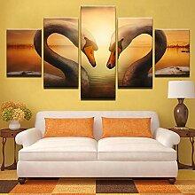 Fbhfbh 3D Leinwand Malerei, Kunstwerk Poster Hd