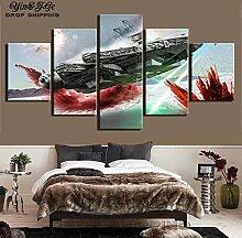 Fbhfbh 3D Leinwand Malerei, Moderne Wandkunst