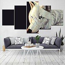 Fbhfbh 3D Leinwand Malerei, Wandkunst Hd Druckt