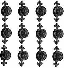 FBSHOP(TM) 12pcs Antike Möbelknöpfe Legierung