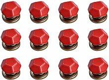 FBSHOP(TM) 12PCS Rot Diamant-Form