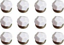 FBSHOP(TM) 12PCS Weiß Diamant-Form