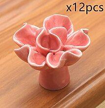 FBSHOP(TM) 40mm 12pcs Rosa Neu Cockscomb Blumen