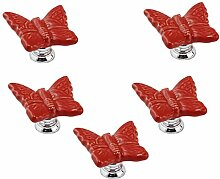 FBSHOP(TM) 5PCS Rot Dekorative Zimmer für