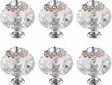 FBSHOP(TM) 6 Stück 40mm Kristall Diamant Form