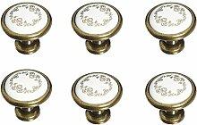 FBSHOP(TM) 6 Stück Handgefertigte Handbemalte