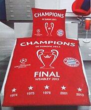 FC Bayern München Bettwäsche, 1 x Kissenbezug 80