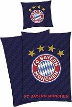FC Bayern München Bettwäsche FCB 135x200 80x80cm