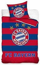 FC Bayern München Logo Bettwäsche-Set 100%