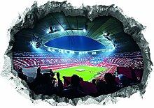 FC Bayern München Wandtattoo 3D für Tapete  