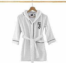 FC Juventus, Bademantel aus Mikrofrottee, für