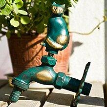 fcndsfk Wasserhahn Outdoor Garden Tierform Bibcock