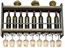 FCXBQ Europäische Weinregal Getränkehalter,