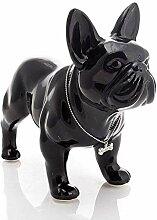 FCXBQ Keramik Französische Bulldogge Hund Statue