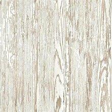 fd22056–Maison Chic Holzmaserung Effekt natur Fine Decor Tapete