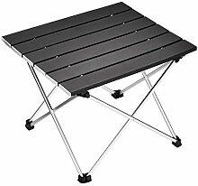 FDABFU Aluminium tragbare Camping Tisch Klapptisch