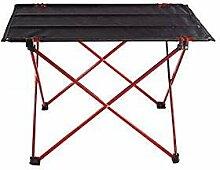 FDABFU Leichte tragbare Camp Tisch Compact Folding