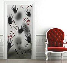 FDASLJ Türaufkleber 3D Tür Wandbild 90x210CM