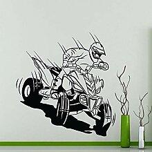 fdgdfgd ATV Racing Wandaufkleber Garage Auto
