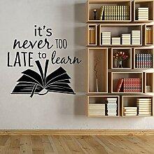 fdgdfgd Bücher Wandaufkleber Bibliothek Bücher
