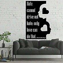 fdgdfgd Lebende Wandtattoos nur Liebe kann